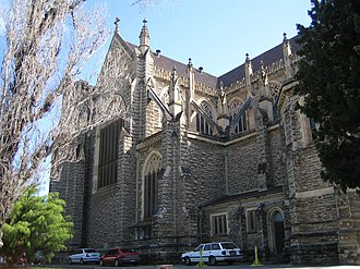 St Mary's Cathedral, Perth - The apse and transept of the 1930 portion of the cathedral