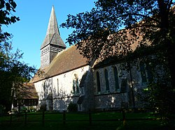 St Marys Parish Church, Lasham, Hampshire-12Oct2009.jpg