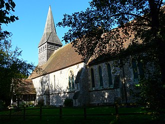 Lasham - Image: St Marys Parish Church, Lasham, Hampshire 12Oct 2009