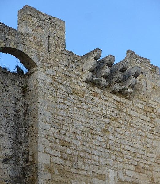 Enceinte construite au 15° siècle