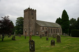 Ravenstonedale village in the United Kingdom