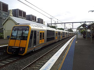 Sydney Trains T set - T13 in Cityrail livery
