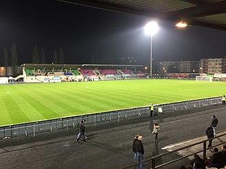 Stade Marcel-Verchère - Image: Stade Verchère Terrain