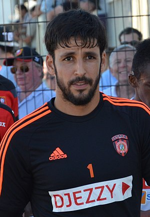 USM Alger - Goalkeeper and captain Mohamed Lamine Zemmamouche holds the club record for all-time appearances.