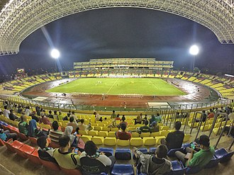 Malaysia national football team - Image: Stadium Hang Jebat