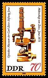 Microscope Carl Zeiss, 1873
