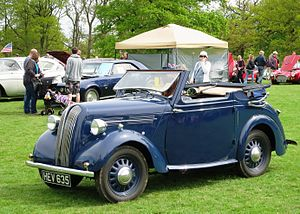 Standard Eight - Standard Flying Eight drophead coupe (1939)