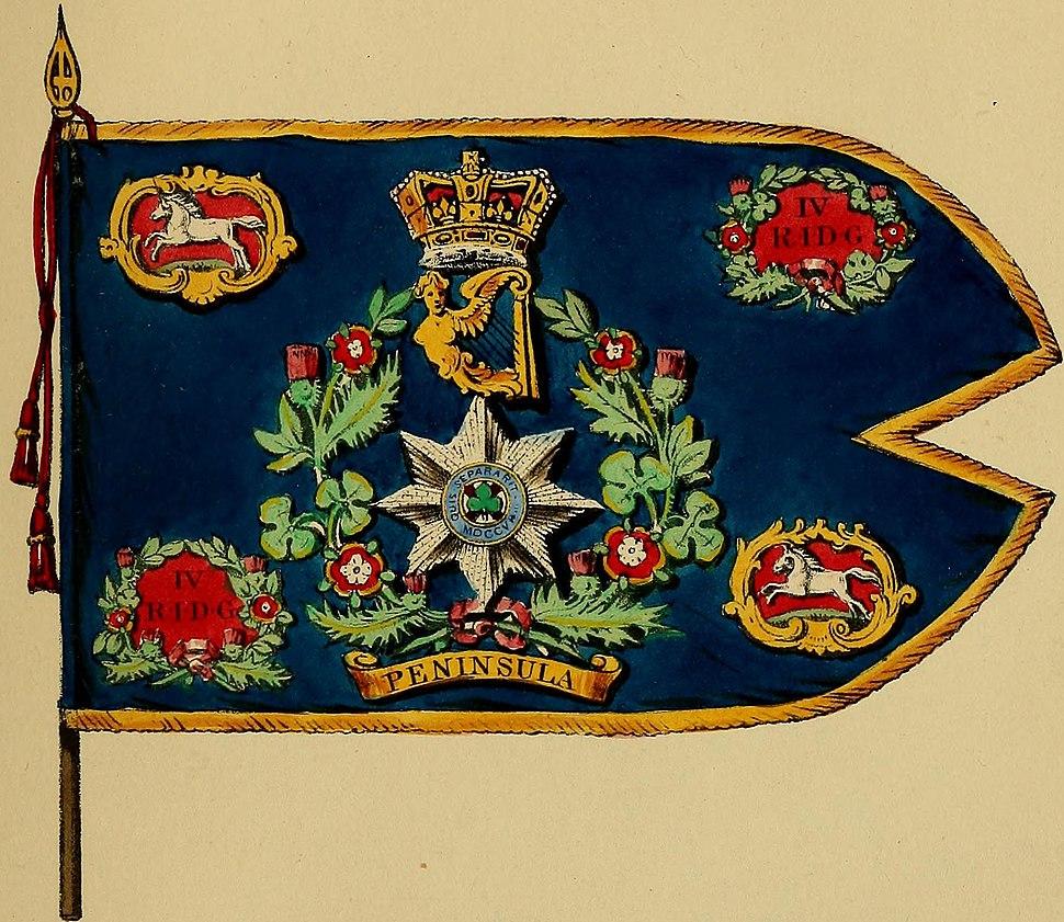 Standard of the 4th Royal Irish Dragoon Guards