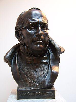 Stanisław Moniuszko - Stanisław Moniuszko bust in Gdańsk