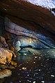 Stará Amatérská jeskyně - Bílá voda v Povodňové chodbě.jpg