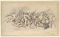 Start of the Race of the Barberi Horses, Rome MET DP109555.jpg