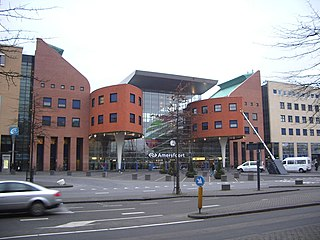 Amersfoort railway station railway station in the Dutch city of Amersfoort