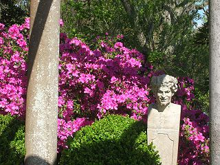 Airlie Gardens public garden in Wilmington, North Carolina