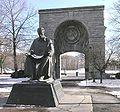 Statue of Nikola Tesla in Niagara Falls State Park.jpg