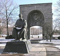 Statue of Nikola Tesla in Niagara Falls State Park