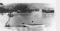 Steamers Harvest Queen and Almota, at Almota, WT 1880.png