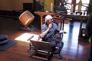 Stephen Batchelor (en) at Upaya Zen Center in ...