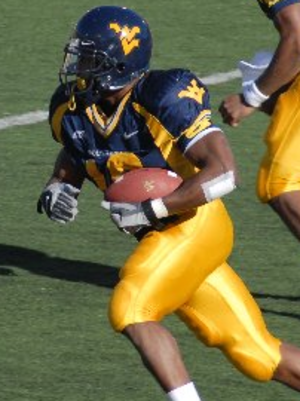 Steve Slaton - Slaton during the 2006 season