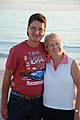 Steve Stanton and his wife Wendy at Englewood Beach, Florida, 2015.jpg