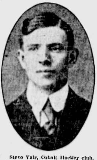 Steve Vair - Steve Vair around 1910.