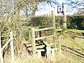 Stile by Turtles Farm - geograph.org.uk - 1105536.jpg
