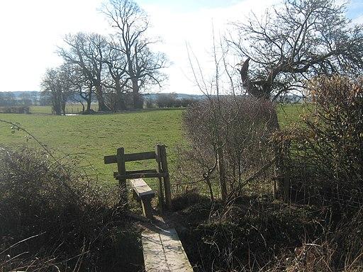 Stile on High Weald Landscape Trail near Dumbourne Farm - geograph.org.uk - 1742622