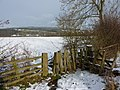 Stile on a footpath from Congreave to Stanton in Peak - geograph.org.uk - 1629583.jpg