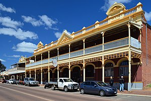 Toodyay, Western Australia - View of Stirling Terrace, 2013