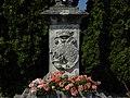 Stollhofen - Votivsäule Immaculata - Sockel mit Bezeichnung 1736.jpg
