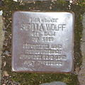 Stolperstein Bad Münstereifel Heisterbacher Straße 38 Sibilla Wolff.jpg