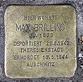 Stolperstein Brandenburgische Str 24 (Wilmd) Max Brilling.jpg
