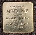 Stolperstein Gleditschstr 55 (Schön) Alfred Traub (dritter Stein).jpg