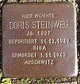 Stolperstein Horstmar Gossenstraße 1 Doris Steinweg.jpg