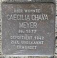 Stolperstein Lüdinghausen Olfener Straße 10 Caecilia Chava Meyer.jpg