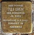 Stolperstein Motzstr 30 (Schön) Elli Grün.jpg
