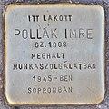 Stolperstein für Imre Pollak (Budapest).jpg