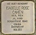 Stolperstein für Isabelle Rose Cahen (Differdingen).jpg