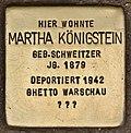 Stolperstein für Martha Königstein (Cottbus).jpg
