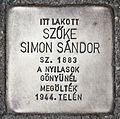 Stolperstein für Simon Sandor Szöke.jpg