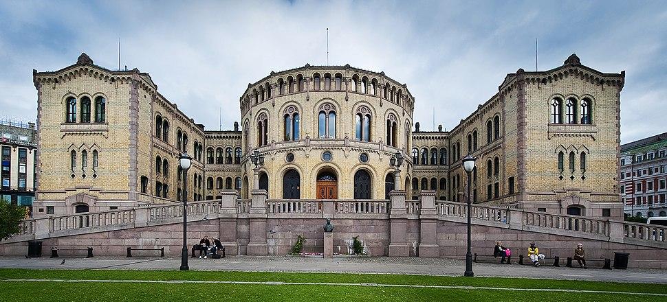 Stortinget, Oslo, Norway (cropped)