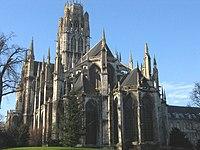 Abbey church of Saint-Ouen, (chevet) in Rouen