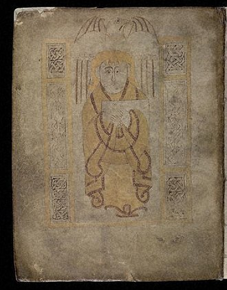 Stowe Missal - Image: Stowe Missal fol 11 v