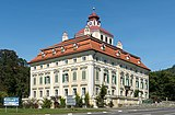 Straßburg Pöckstein 1 Schloss Pöckstein SO-Ansicht 12092015 7370.jpg