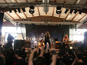 Strapping Young Lad - Strapping Young Lad at the Tribute to Flame Fest June 2006