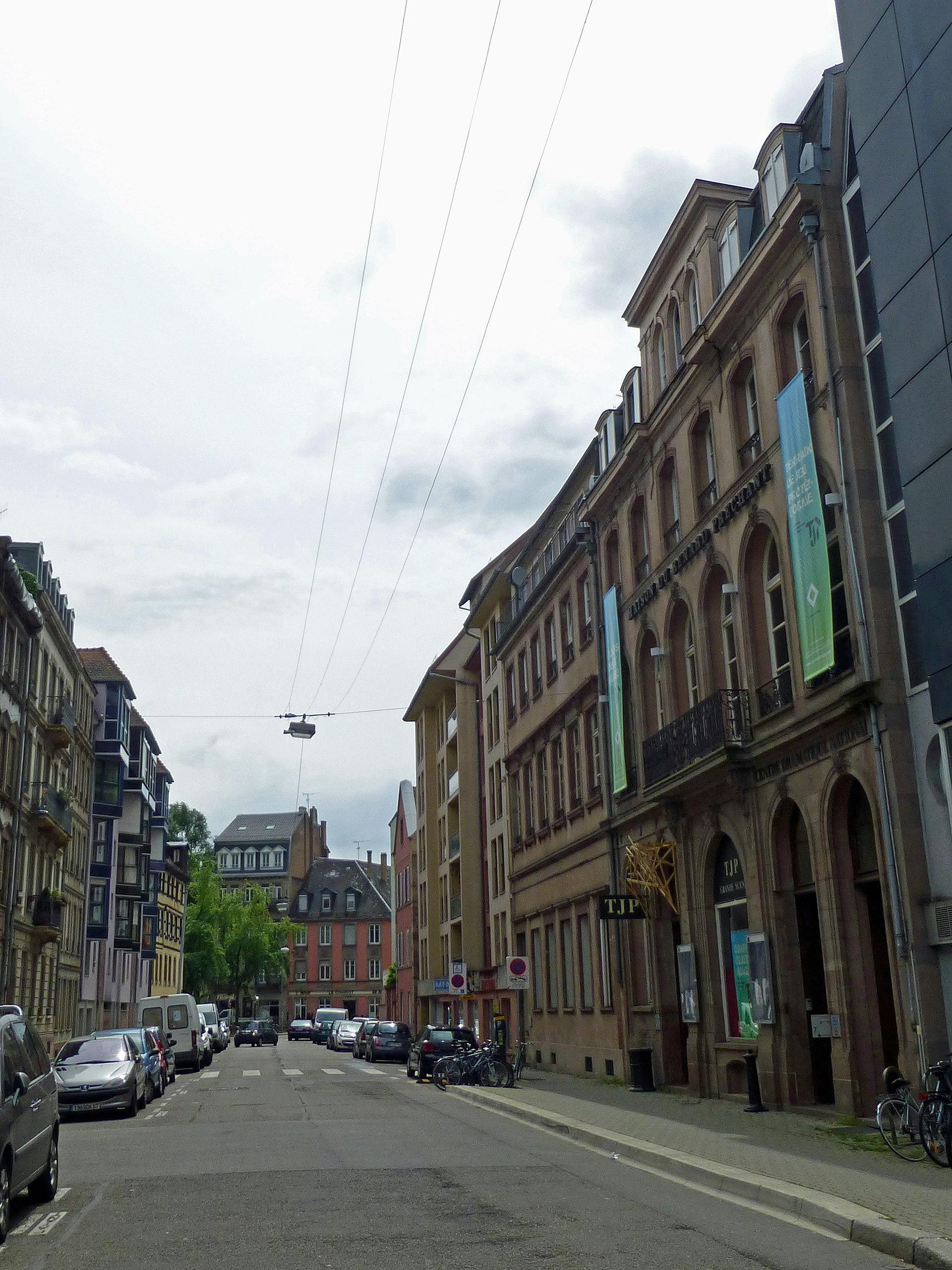 Rue des balayeurs wikip dia for Rue du miroir strasbourg