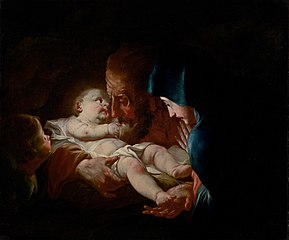 Saint Joseph with Family