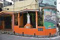 Street Butification With Statue Of Rabindranath Tagore And High Relief Work Of Village Scene - Nalin Sarkar Street - Kolkata 2017-05-02 7088.JPG