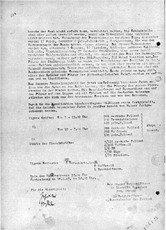 Strp040 Stroop report 27 4 1943