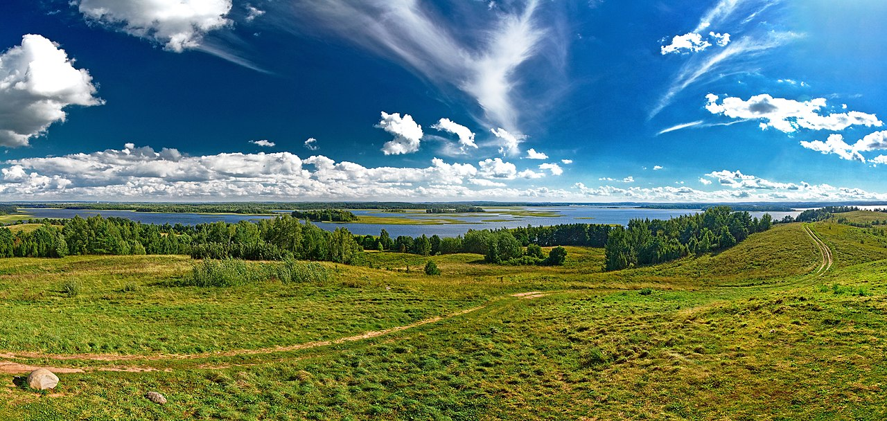 Danau Strusta di Region Vitebsk