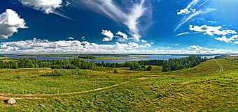 Strusta Lake in the Vitebsk Region Strusta Lake - Panorama.jpg